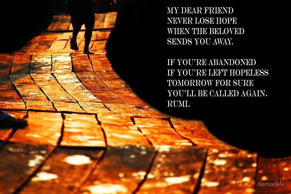 Rumi quote by demor44