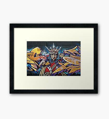 Graffitti Framed Print