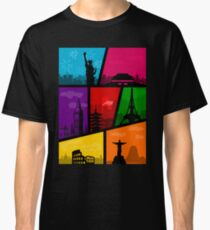 Cities of the World Classic T-Shirt
