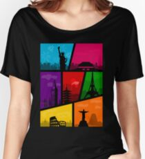 Cities of the World Women's Relaxed Fit T-Shirt