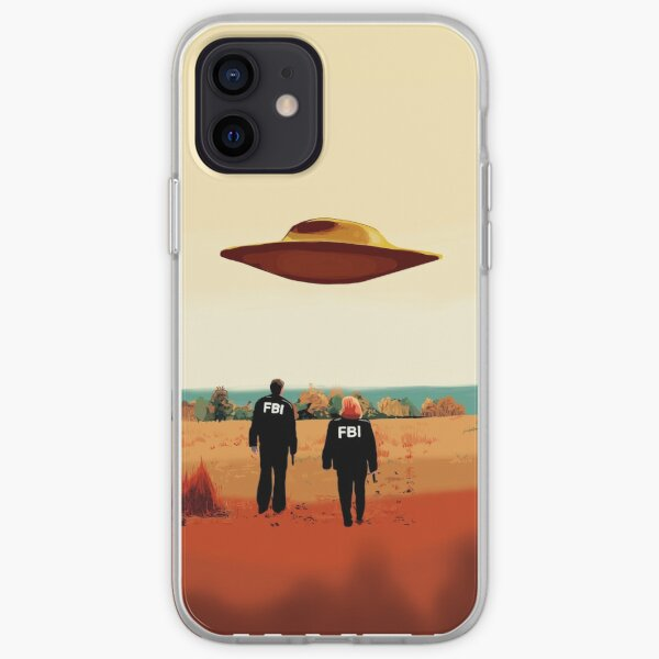 The X Files I want to believe FBI poster  iPhone Soft Case