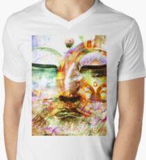 Buddha, Baby Men's V-Neck T-Shirt