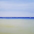 Gwithian at Low Tide by VinArt