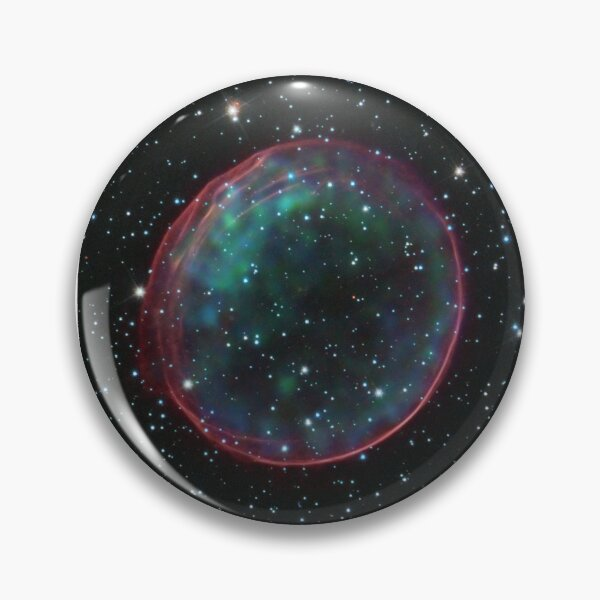 Supernova remnants such as this are the source of many cosmic rays. Pin