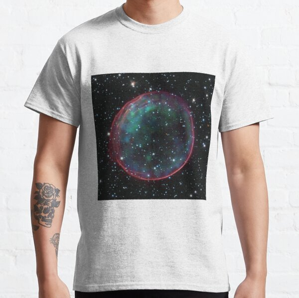 Supernova remnants such as this are the source of many cosmic rays. Classic T-Shirt