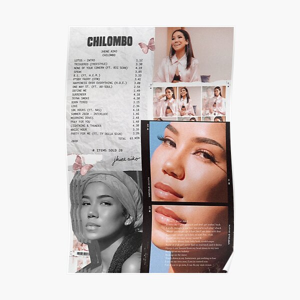 Jhené Collage Poster