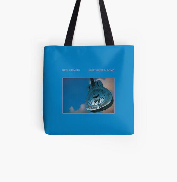 Dire Straits - Brothers In Arms (album) All Over Print Tote Bag