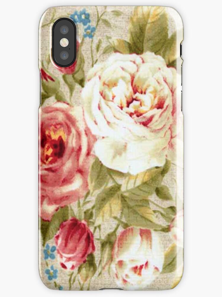 DORIS JANE iPHONE CASE by MadNic