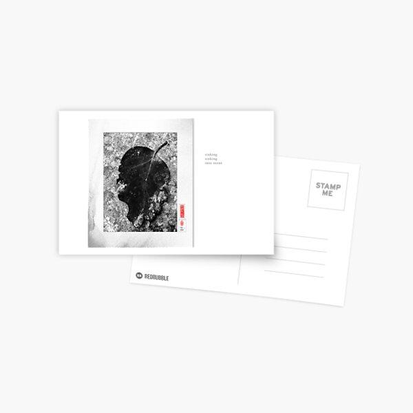 Mindfulness In Monochrome - Sinking Postcard