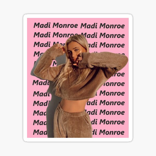 -aesthetic madi monroe- Sticker