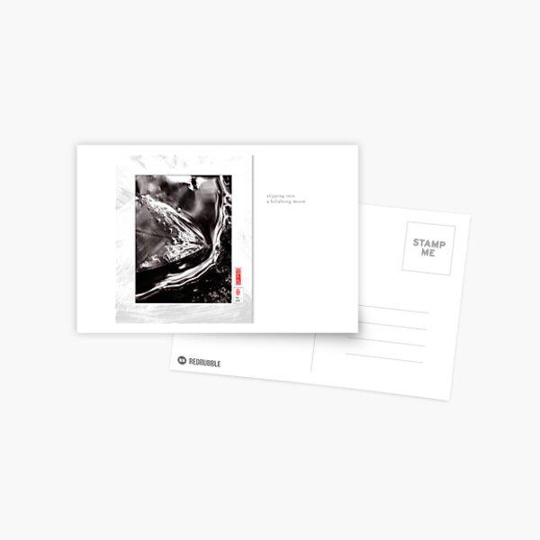 Mindfulness In Monochrome - Slipping Postcard