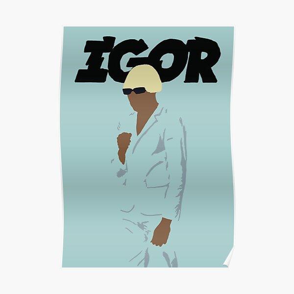 IGOR Tyler, the Creator Illustration Poster