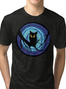 time for child stories: the EVIL OWL Tri-blend T-Shirt