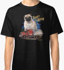 Pug Born to Roam Classic T-Shirt