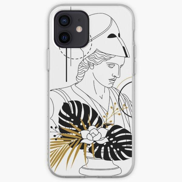Athéna (Minerve) Coque souple iPhone