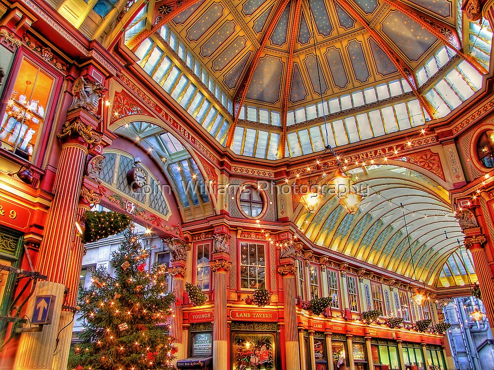 The Tree - Leadenhall Market Series - London - HDR by Colin  Williams Photography