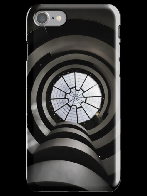 Ghostly Guggenheim - iPhone 4 case by Warren Paul Harris