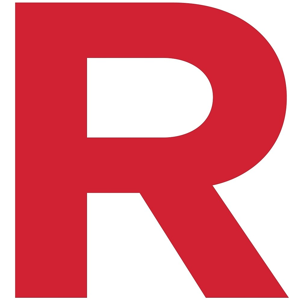 Team Rocket inspired 'R' by adamlanningmoly