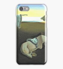 Melting Clocks Salvador Dali Fine Art iPhone Case/Skin