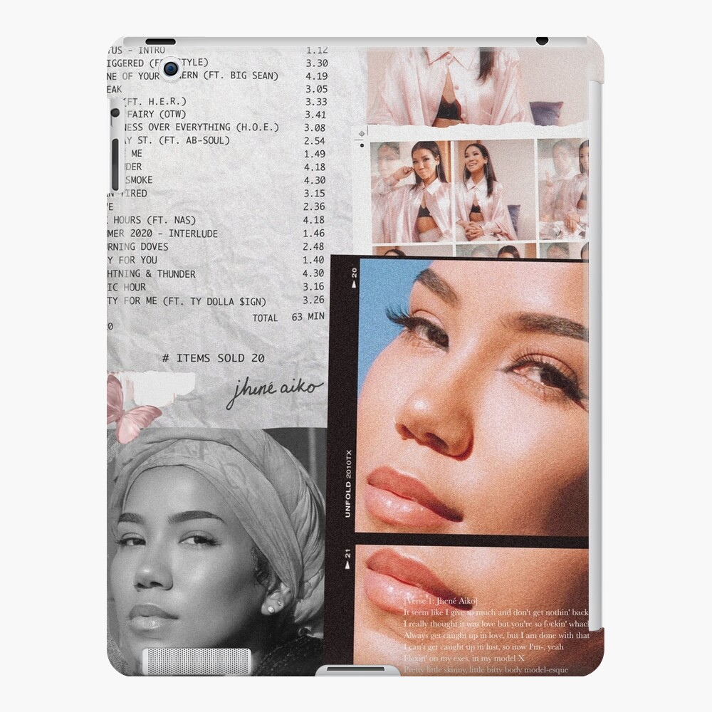 Jhené Collage iPad Case & Skin
