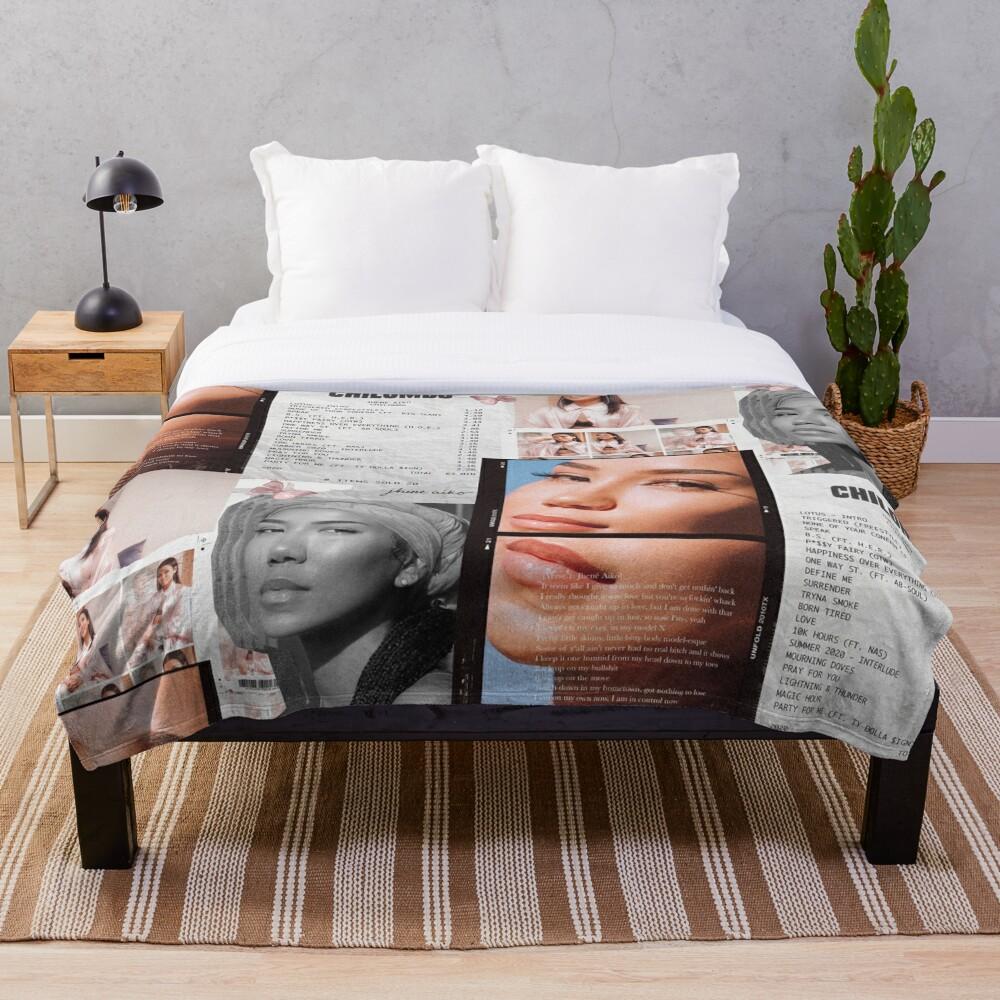 Jhené Collage Throw Blanket