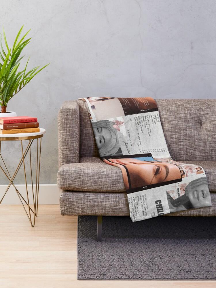 Alternate view of Jhené Collage Throw Blanket