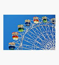 Ferris Wheel Photographic Print