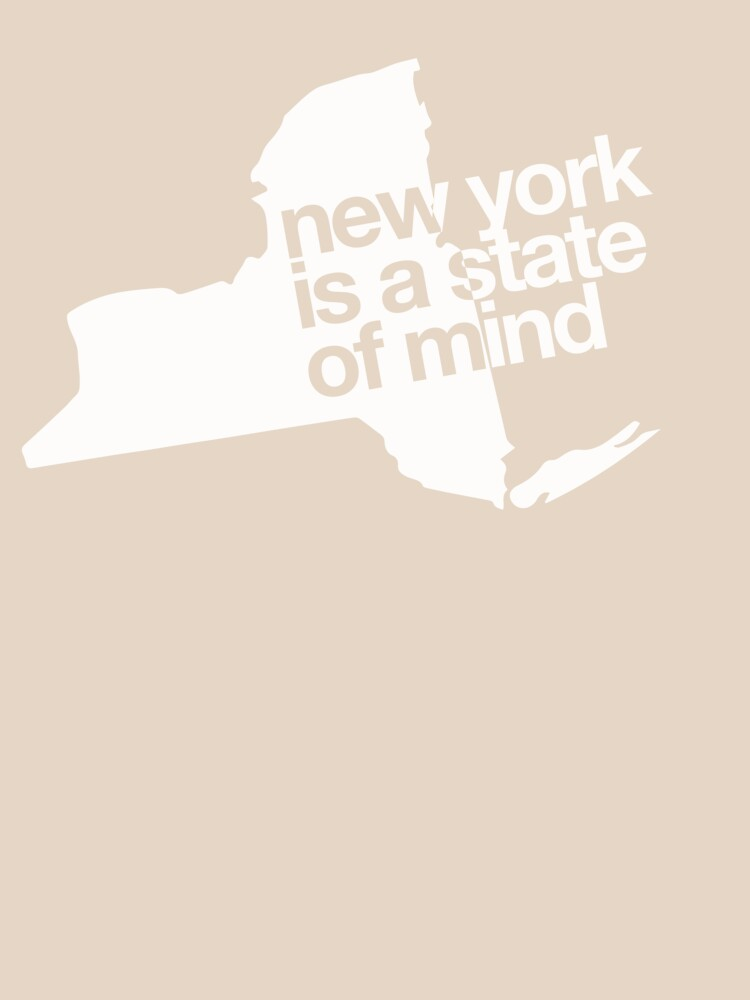 New York is a state of mind - Big - White by buud