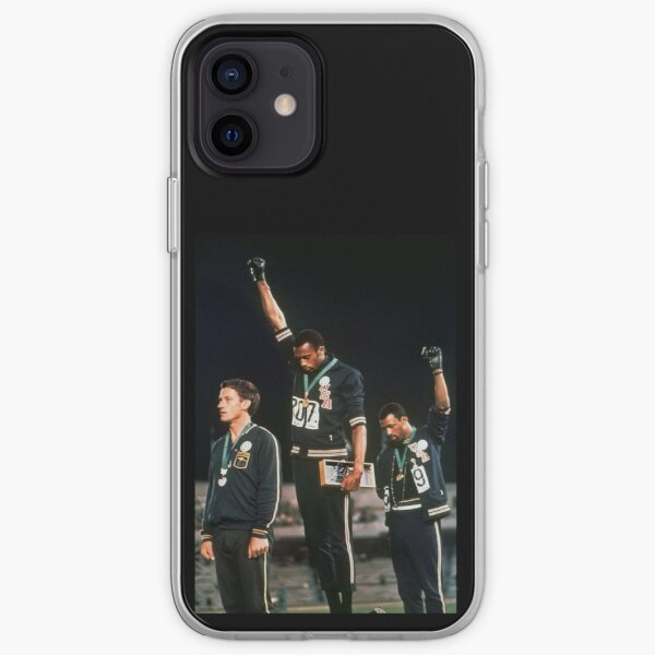 1968 Olympics Salute for Human Rights iPhone Soft Case