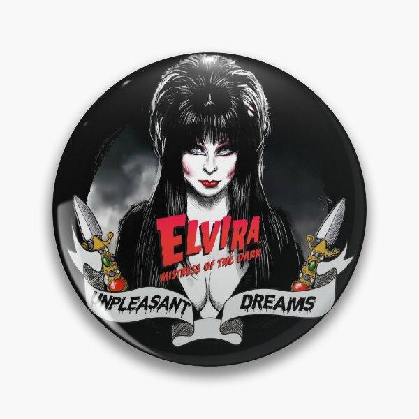 Goth Queens - Elvira, Mistress of the Dark Pin