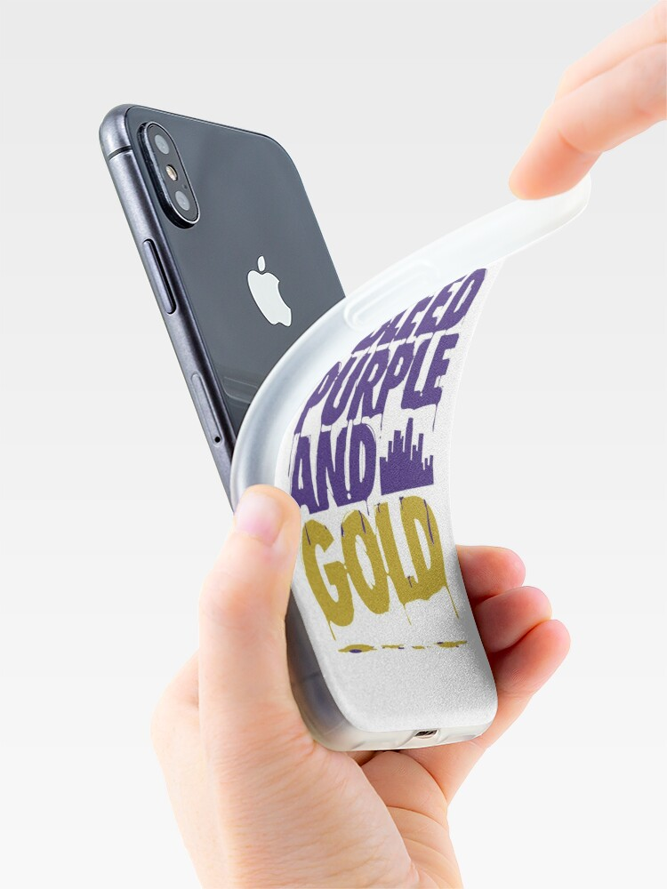 Alternate view of Lakers Nation  iPhone Case & Cover