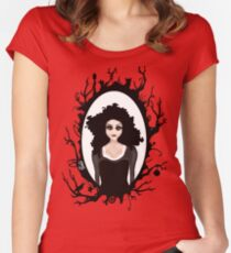 I keep my dark thoughts deep inside. Women's Fitted Scoop T-Shirt