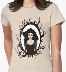 I keep my dark thoughts deep inside. Womens Fitted T-Shirt