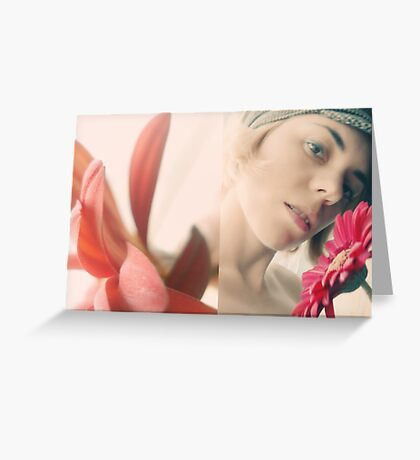 Red Beauty  Greeting Card