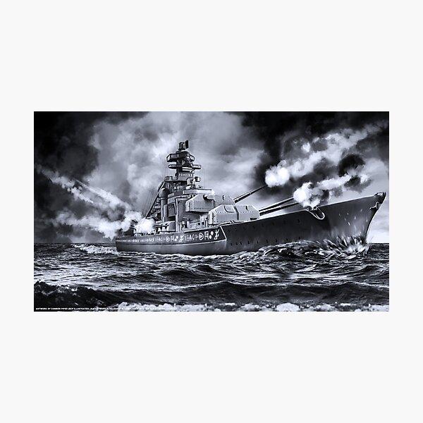 SCP-4217 The Bismarck #1 Photographic Print