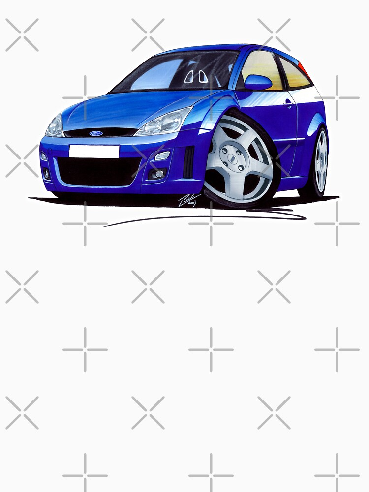 Ford Focus RS Blue by yeomanscarart