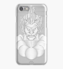 Akuma Waveform Evil Intent iPhone Case/Skin