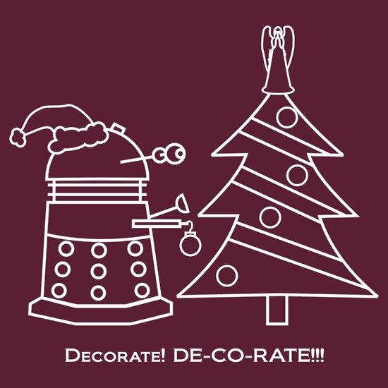 TShirtGifter presents: A Very Dalek Christmas - Dark