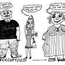 Occupy Fashion culture cartoon by bubbleicious