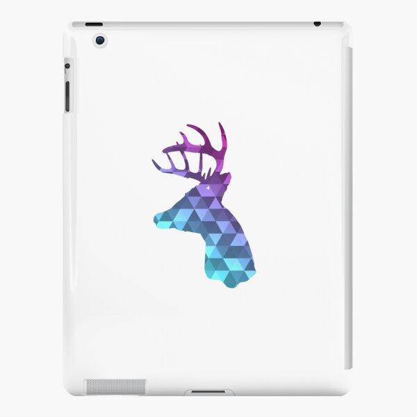 Deer head, Geometric, Deer Silhouette, Animal  iPad Snap Case