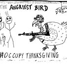 Occupy Thanksgiving editorial cartoon by bubbleicious