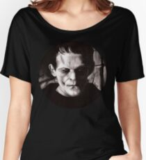 THE MONSTER of FRANKENSTEIN Women's Relaxed Fit T-Shirt