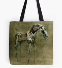 Wooden Horse Tote Bag