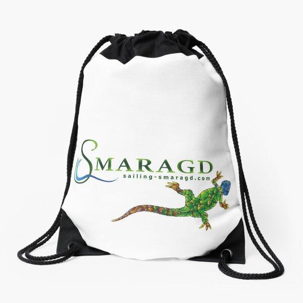 Green lizard Drawstring Bag