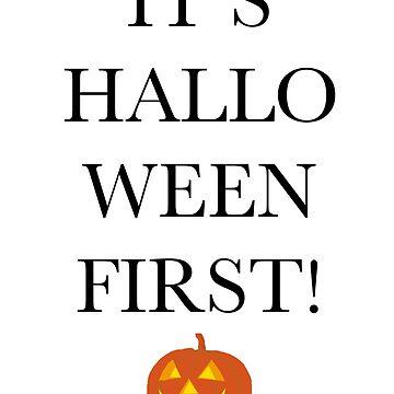 It's HALLOWEEN first! by nicoletunni