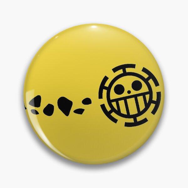 Trafalgar Law heart pirate one piece logo Pin