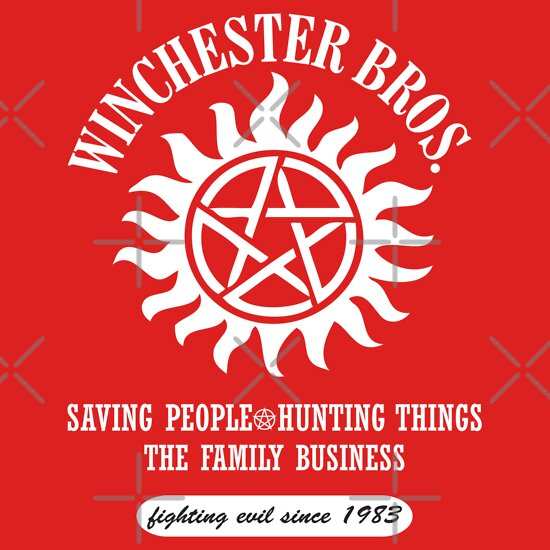 TShirtGifter presents: SUPERNATURAL - WINCHESTER BROTHERS SINCE 1983