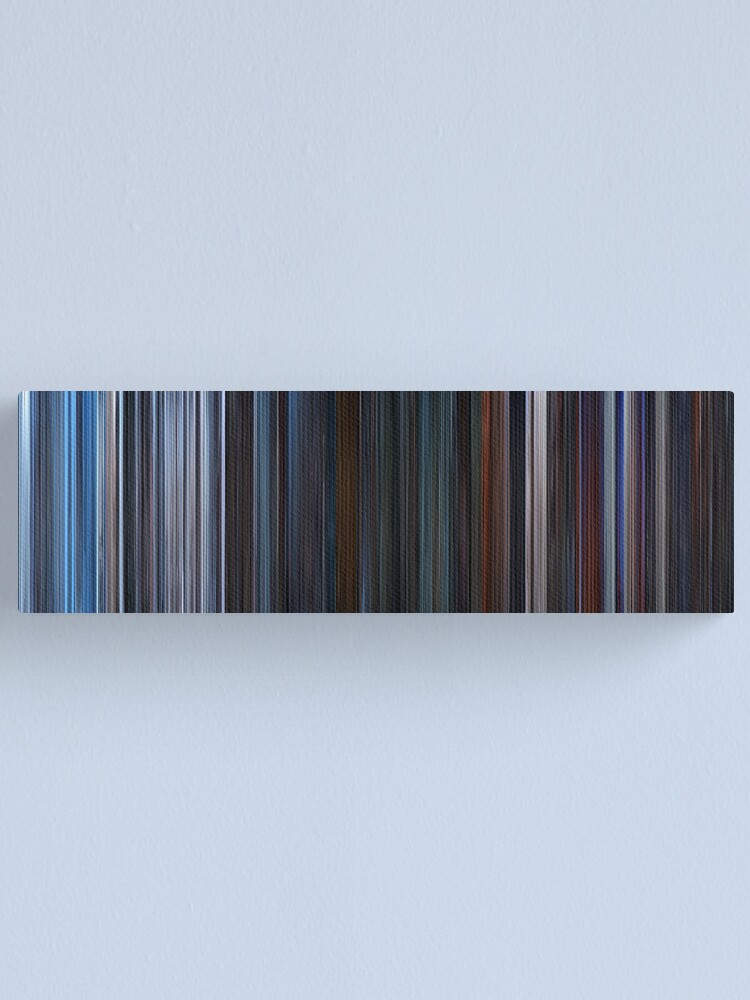 Alternate view of Moviebarcode: Star Wars: Episode V - The Empire Strikes Back (1980) Canvas Print