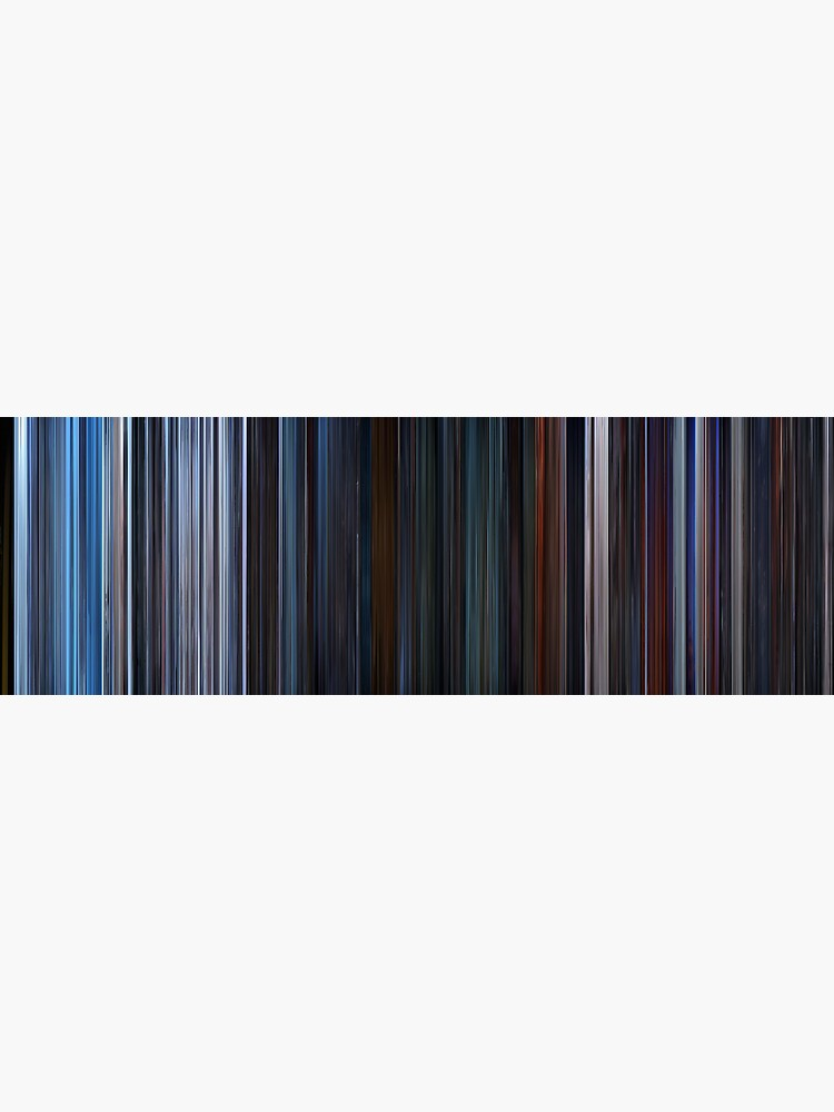 Moviebarcode: Star Wars: Episode V - The Empire Strikes Back (1980) by moviebarcode