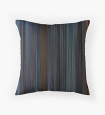 Moviebarcode: Star Wars: Episode V - The Empire Strikes Back (1980) Throw Pillow